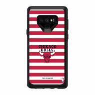 Chicago Bulls OtterBox Samsung Galaxy Note9 Symmetry Stripes Case