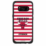 Chicago Bulls OtterBox Samsung Galaxy S8 Symmetry Stripes Case