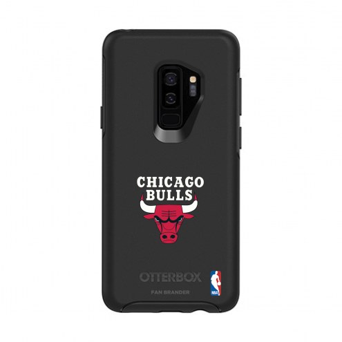 Chicago Bulls OtterBox Samsung Galaxy S9+ Symmetry Black Case