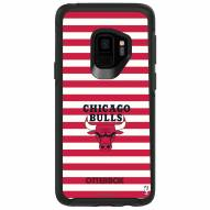 Chicago Bulls OtterBox Samsung Galaxy S9 Symmetry Stripes Case