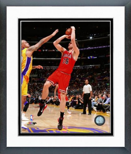 Chicago Bulls Pau Gasol Action Framed Photo