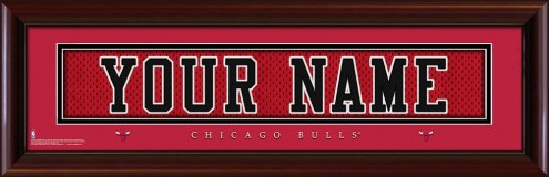Chicago Bulls Personalized Stitched Jersey Print