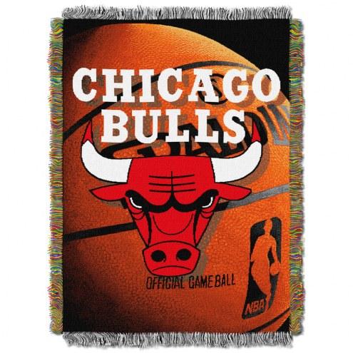 Chicago Bulls Photo Real Throw Blanket