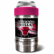 Chicago Bulls Pink 12 oz. Locker Vacuum Insulated Can Holder