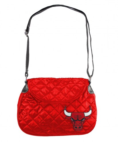 Chicago Bulls Quilted Saddle Bag