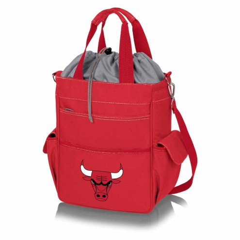 Chicago Bulls Red Activo Cooler Tote
