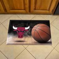 Chicago Bulls Scraper Door Mat