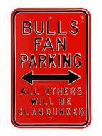 Chicago Bulls Slam Dunked Parking Sign