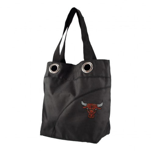 Chicago Bulls Sport Noir Sheen Tote