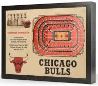 Chicago Bulls 25-Layer StadiumViews 3D Wall Art
