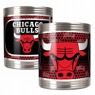 Chicago Bulls Stainless Steel Hi-Def Coozie Set