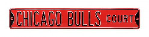 Chicago Bulls Street Sign