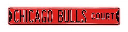 Chicago Bulls Street Sign