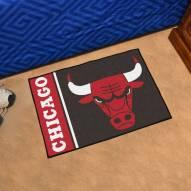 Chicago Bulls Uniform Inspired Starter Rug