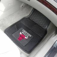 Chicago Bulls Vinyl 2-Piece Car Floor Mats