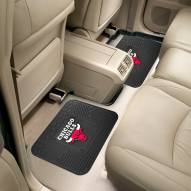 Chicago Bulls Vinyl 2-Piece Rear Floor Mats