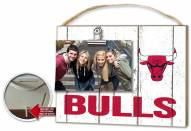 Chicago Bulls Weathered Logo Photo Frame