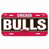 Chicago Bulls License Plate
