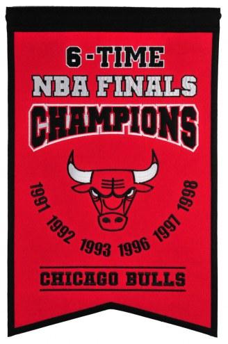 Chicago Bulls Champs Banner