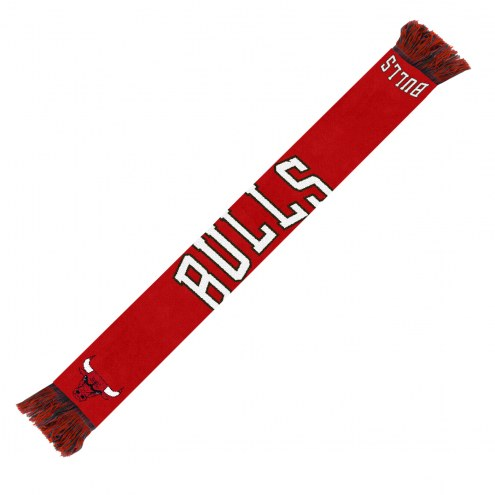 Chicago Bulls Wordmark Scarf