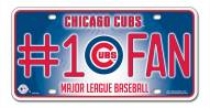 Chicago Cubs #1 Fan License Plate