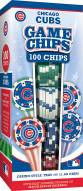 Chicago Cubs 100 Piece Poker Chips