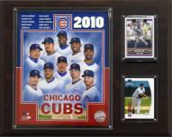 """Chicago Cubs 12"""" x 15"""" 2010 Team Plaque"""