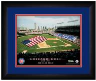 Chicago Cubs 13 x 16 Personalized Framed Stadium Print