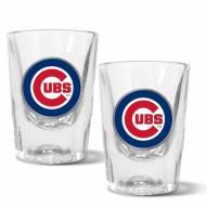 Chicago Cubs 2 oz. Prism Shot Glass Set