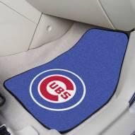 Chicago Cubs 2-Piece Carpet Car Mats