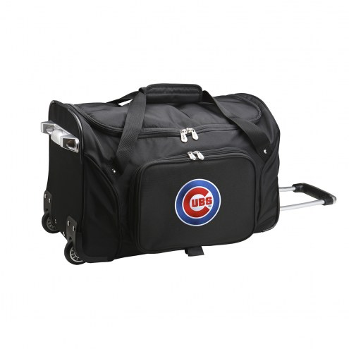 "Chicago Cubs 22"" Rolling Duffle Bag"