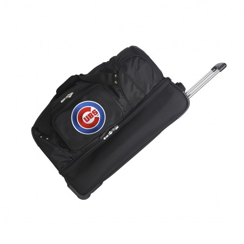 "Chicago Cubs 27"" Drop Bottom Wheeled Duffle Bag"