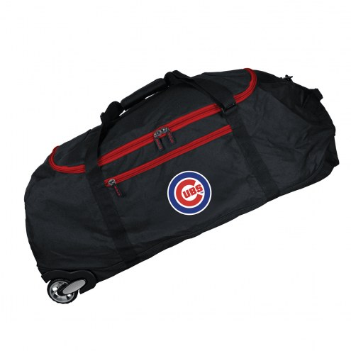 """Chicago Cubs 36"""" Checked-in Wheeled Duffel"""