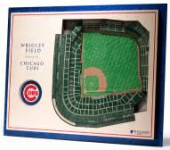 Chicago Cubs 5-Layer StadiumViews 3D Wall Art