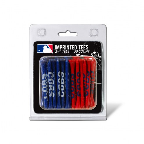 Chicago Cubs 50 Golf Tee Pack