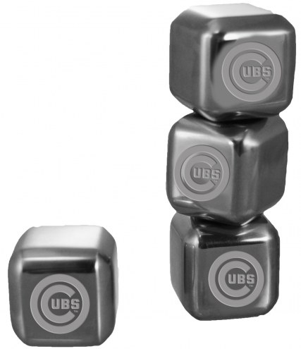 Chicago Cubs 6 Pack Stainless Steel Ice Cube Set