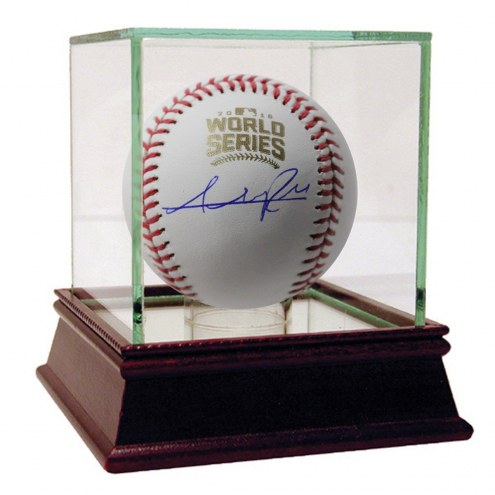 Chicago Cubs Addison Russell Signed 2016 World Series Baseball