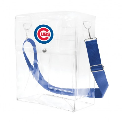Chicago Cubs Clear Ticket Satchel