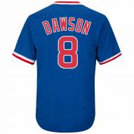 Chicago Cubs Andre Dawson Cooperstown Royal Replica Baseball Jersey