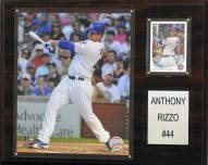 """Chicago Cubs Anthony Rizzo 12"""" x 15"""" Player Plaque"""