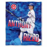 Chicago Cubs Anthony Rizzo Silk Touch Blanket