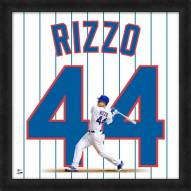 Chicago Cubs Anthony Rizzo Uniframe Framed Jersey Photo
