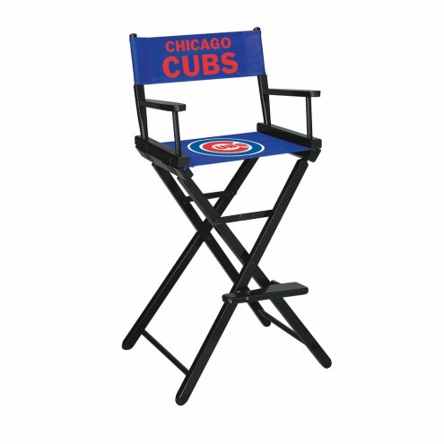 Chicago Cubs Bar Height Director's Chair