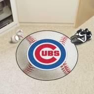 Chicago Cubs Baseball Rug