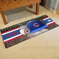 Chicago Cubs Baseball Runner Rug