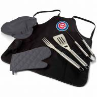 Chicago Cubs BBQ Apron Tote Set