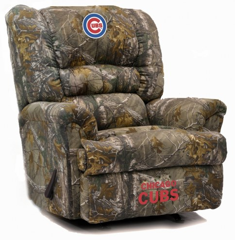 Chicago Cubs Big Daddy Camo Recliner