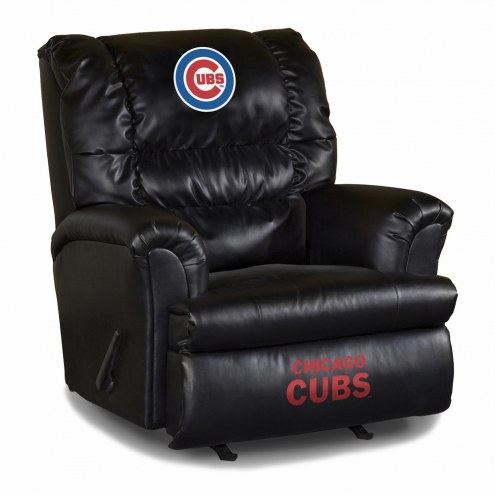 Chicago Cubs Big Daddy Leather Recliner