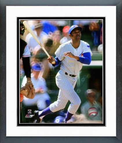 Chicago Cubs Billy Williams Batting Action Framed Photo