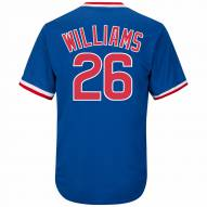 Chicago Cubs Billy Williams Cooperstown Royal Replica Baseball Jersey